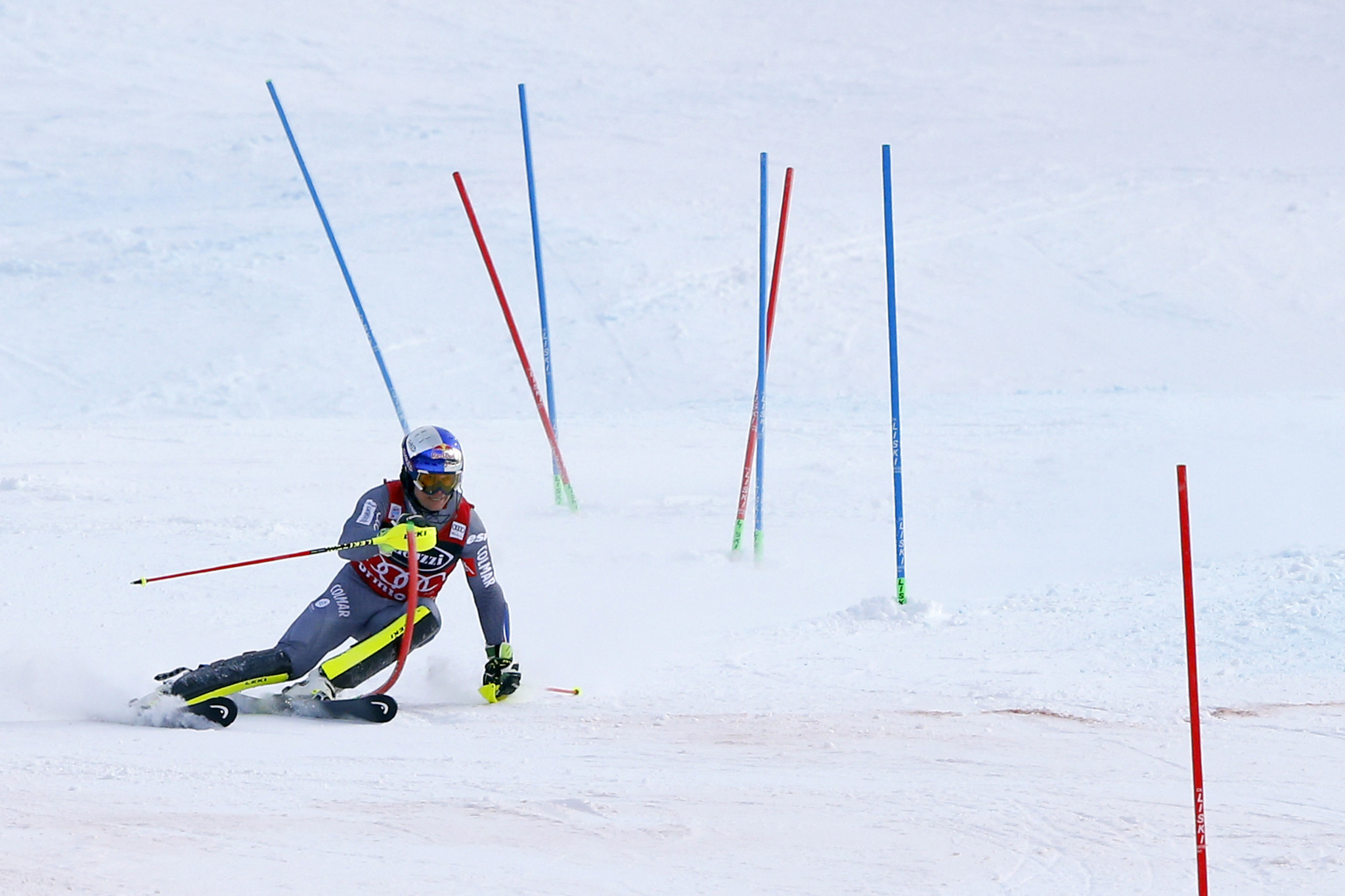 Olympic giant slalom bronze medallist Alexis Pinturault of France won the men's Alpine combined race in Bormio ©Getty Images