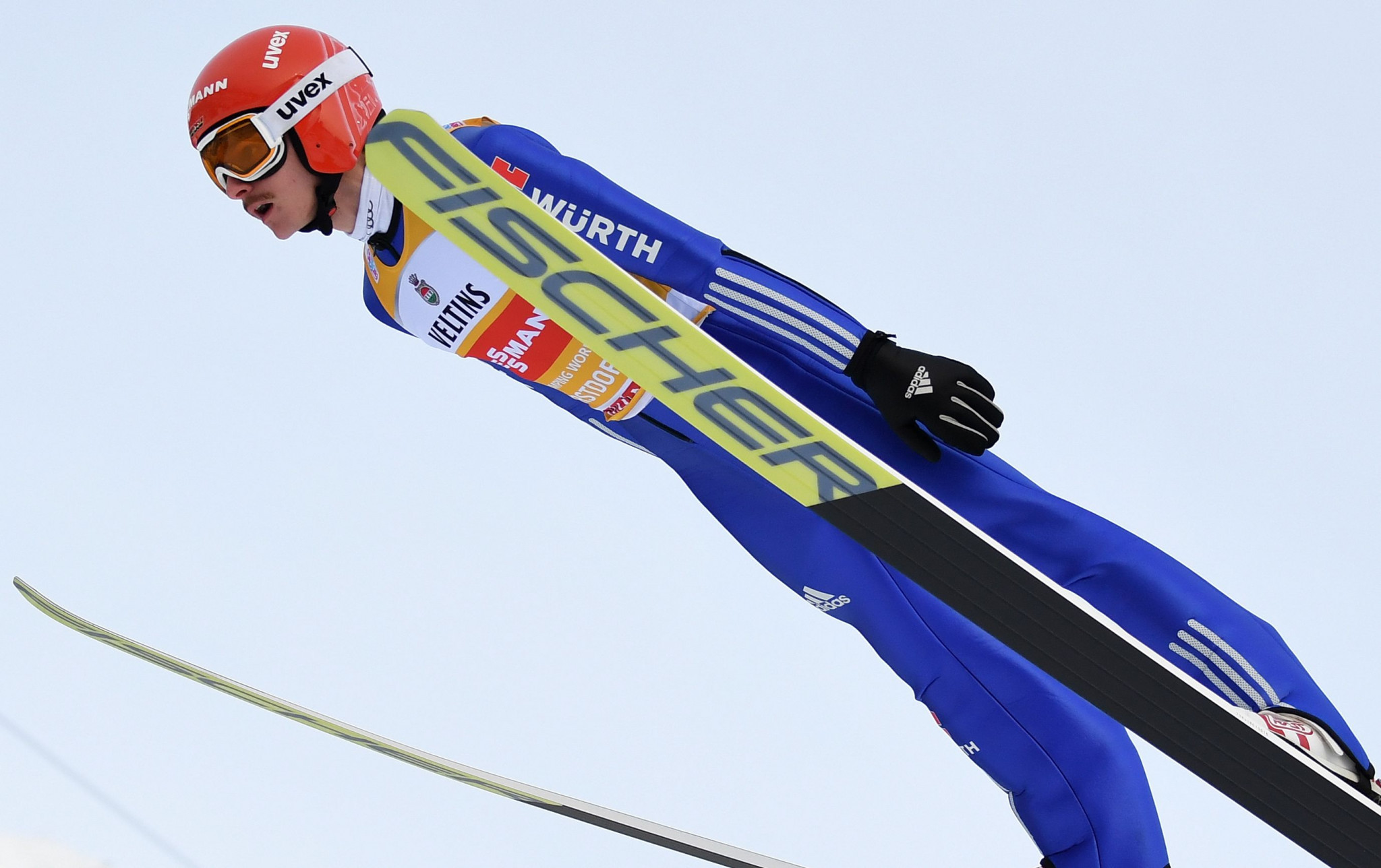 Freitag out on top once again during qualification for ski jump Four Hills event in Oberstdorf