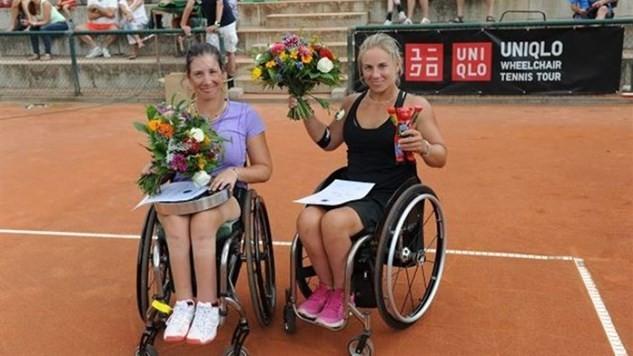 Shuker and Kawano at the double at ITF German Open