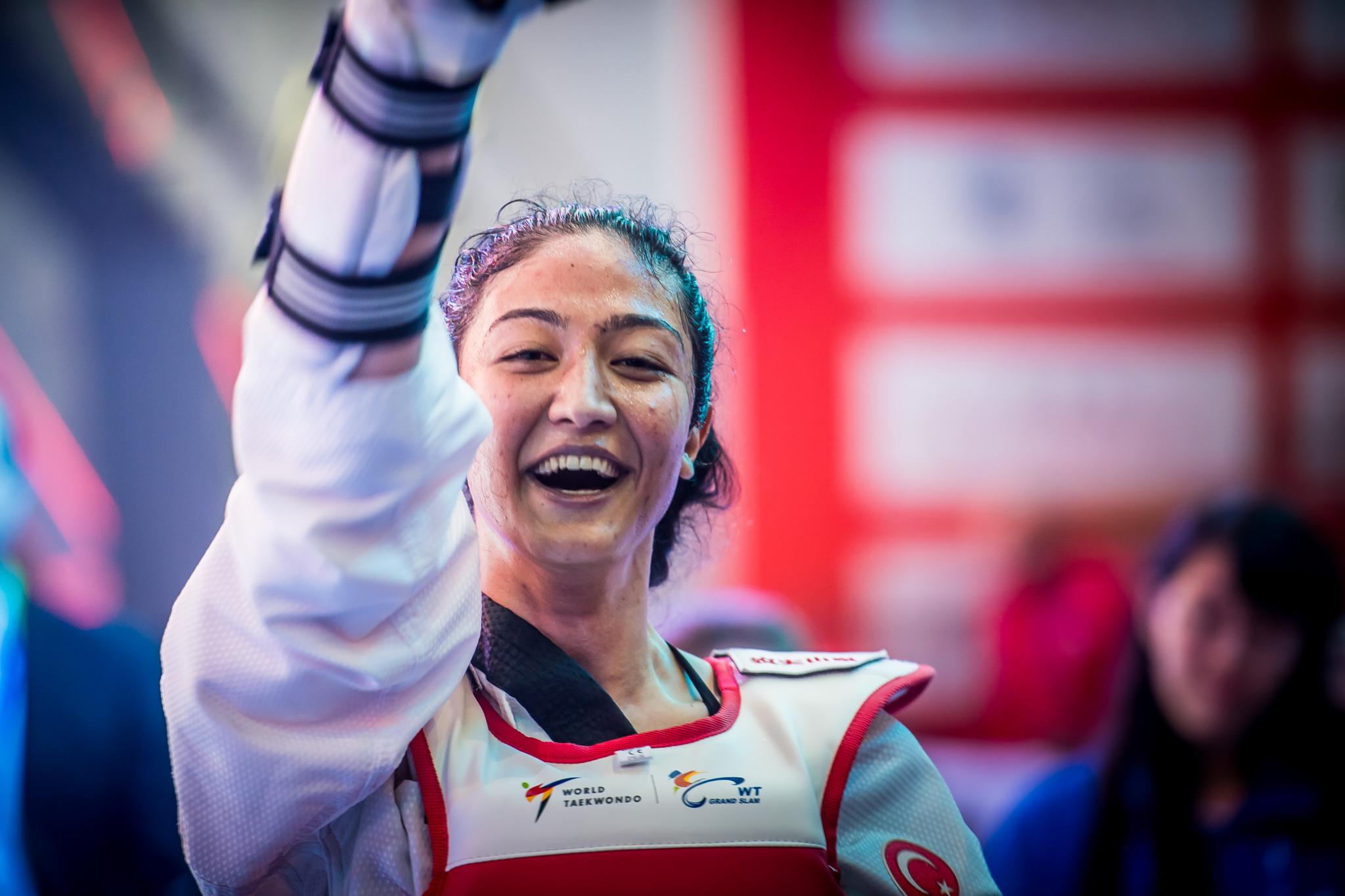 Turkey's Nafia Kus rounded out the women's over 67kg podium ©World Taekwondo