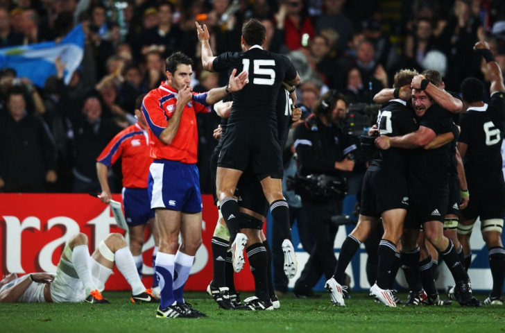 Rugby World Cup final referee aiming for Rio 2016