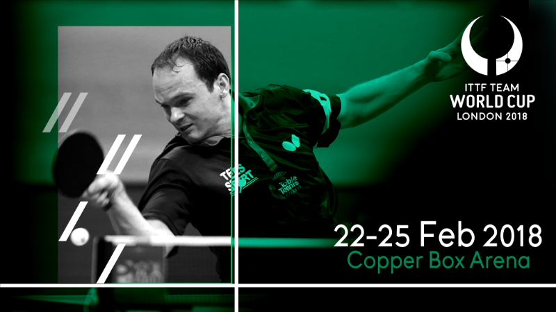 Equipment providers announced for ITTF Team World Cup in London