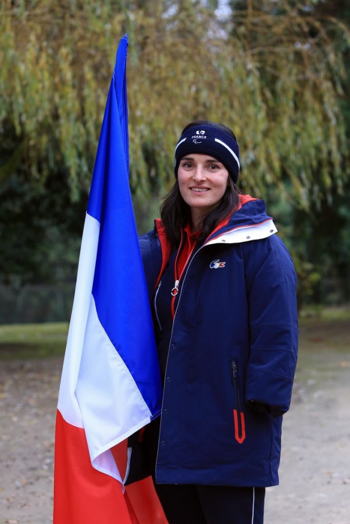 Marie Bochet will act as Flagbearer for the French team in Pyeongchang ©CPSF