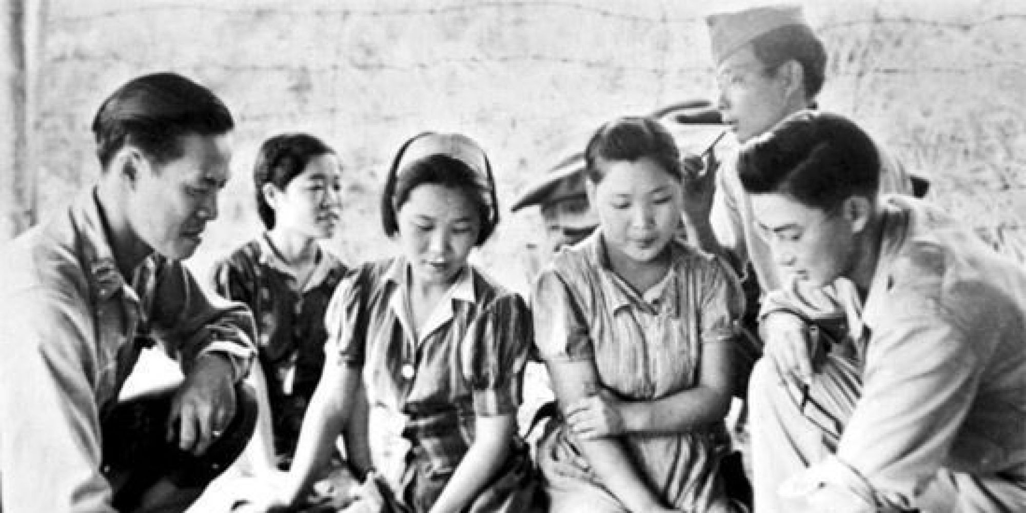 South Korean women and girls were among comfort women forced into sexual slavery by the Imperial Japanese Army in occupied territories before and during World War Two ©Wikipedia