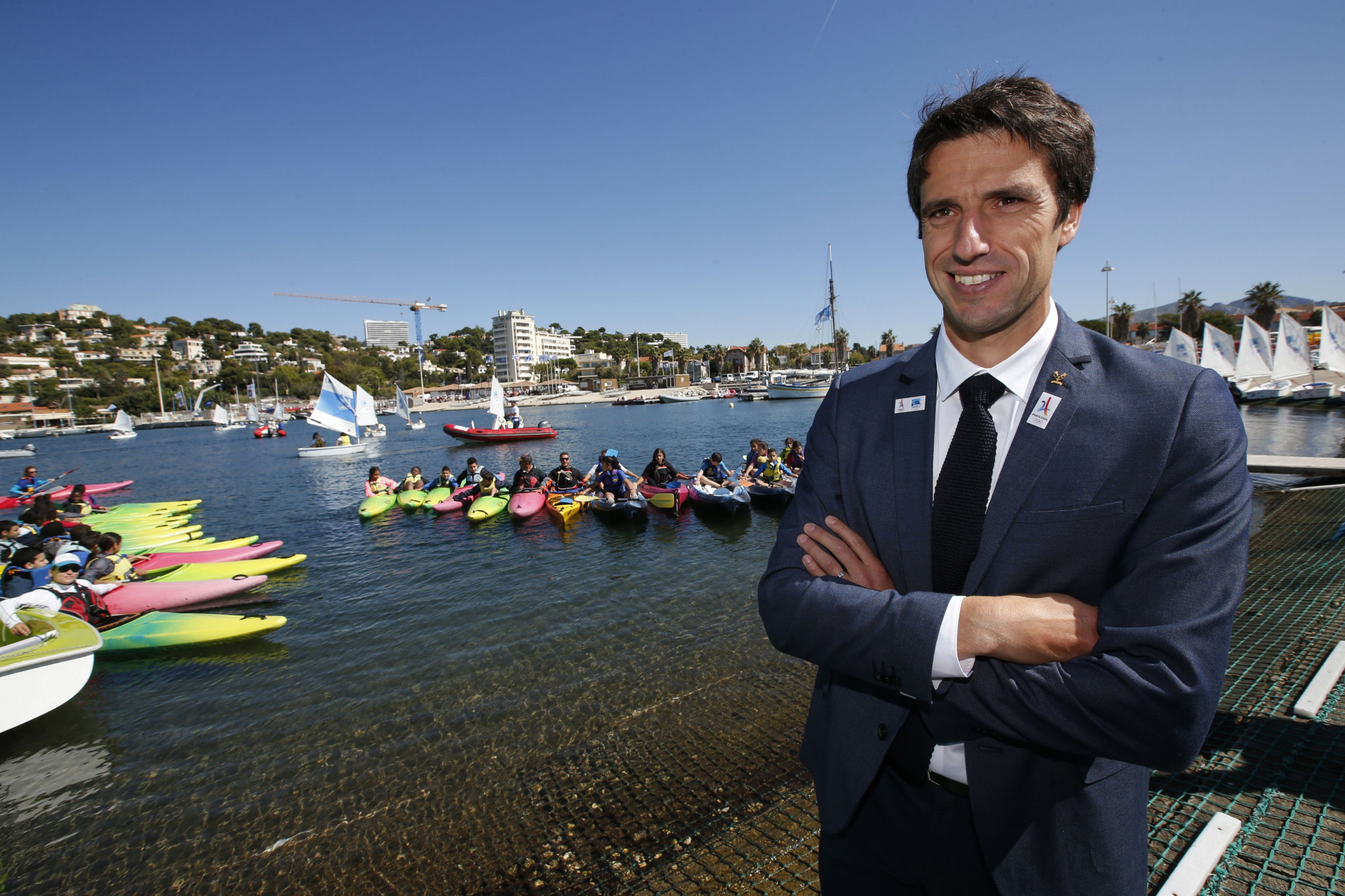 Estanguet offers thanks to those who contributed to successful Paris 2024 bid