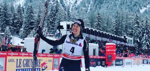 Swiss surprise on home snow for van der Graaff in Tour de Ski sprint opener