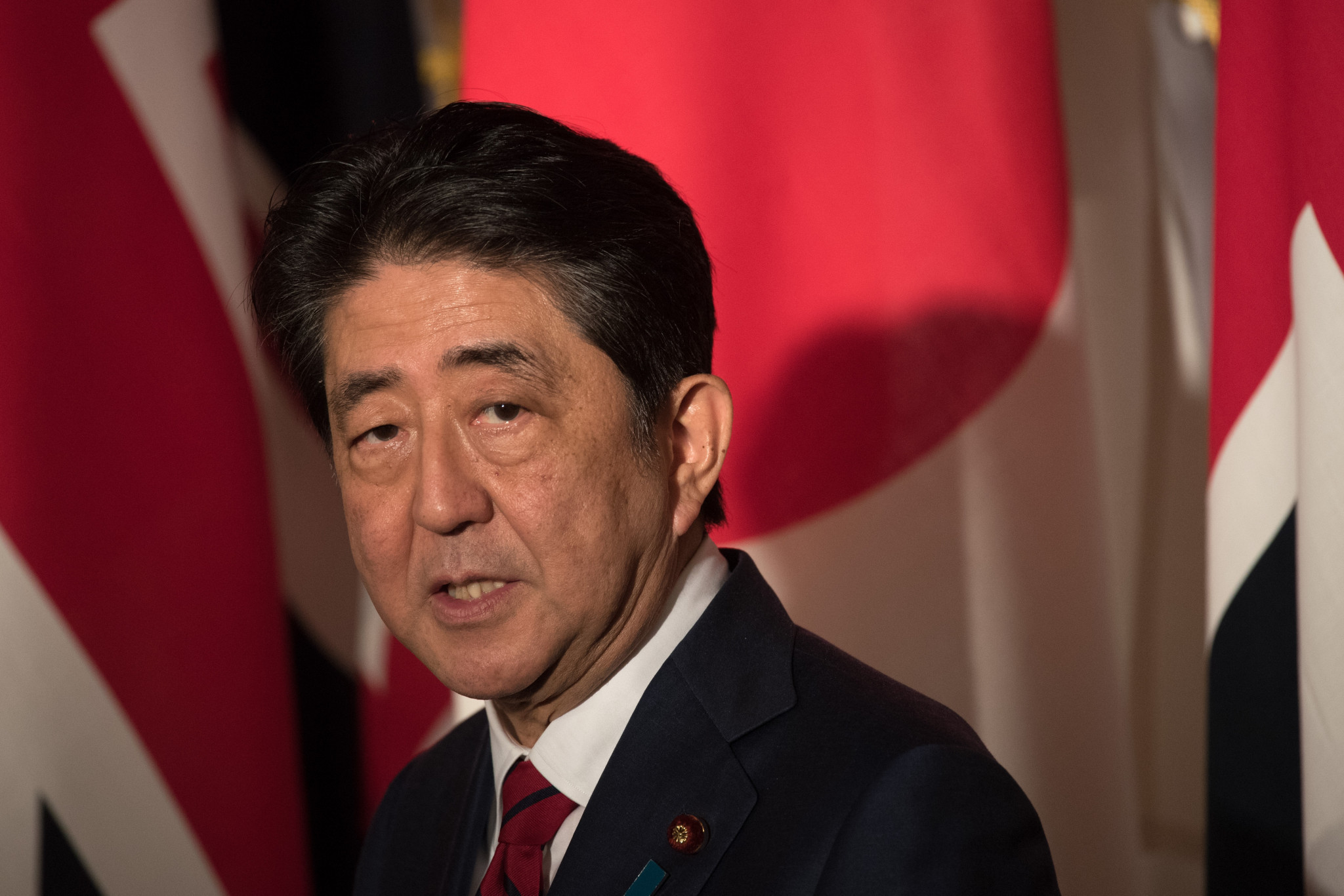 Japan's Prime Minister Shinzō Abe has insisted the Games will still go ahead as planned ©Getty Images