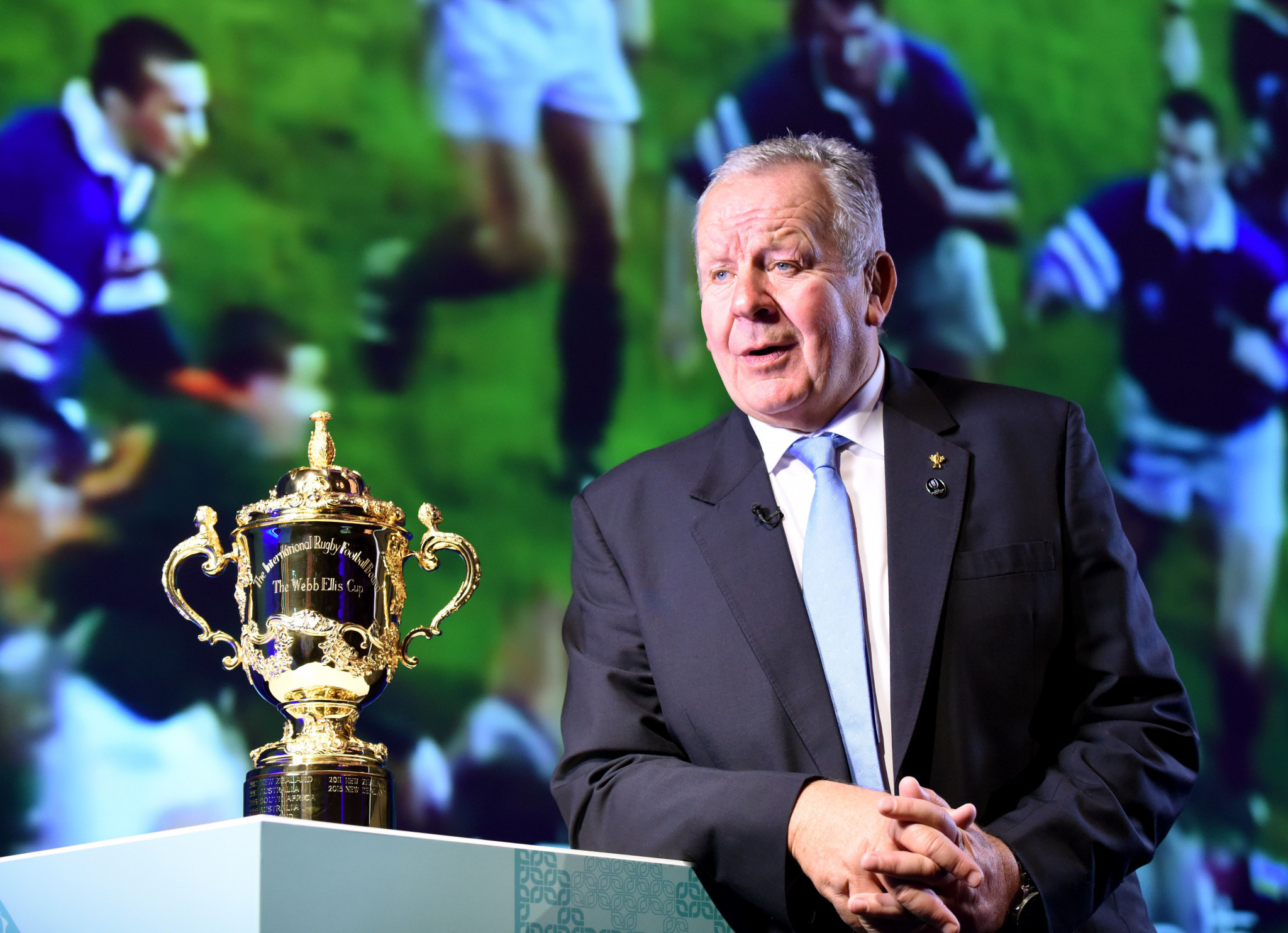 World Rugby chairman Bill Beaumont wants to build on the successes rugby union has had in 2017 ©Getty Images