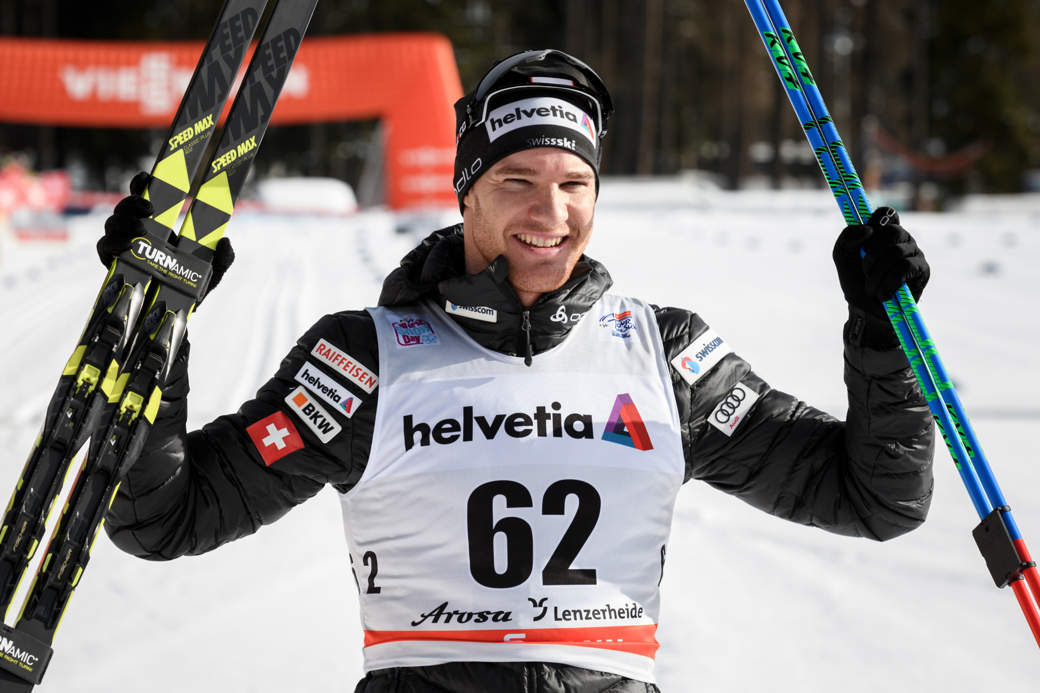 Dario Cologna claimed his 23rd overall World Cup victory in Lenzerheide