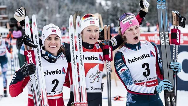 Østberg and Cologna win again to extend Tour de Ski leads