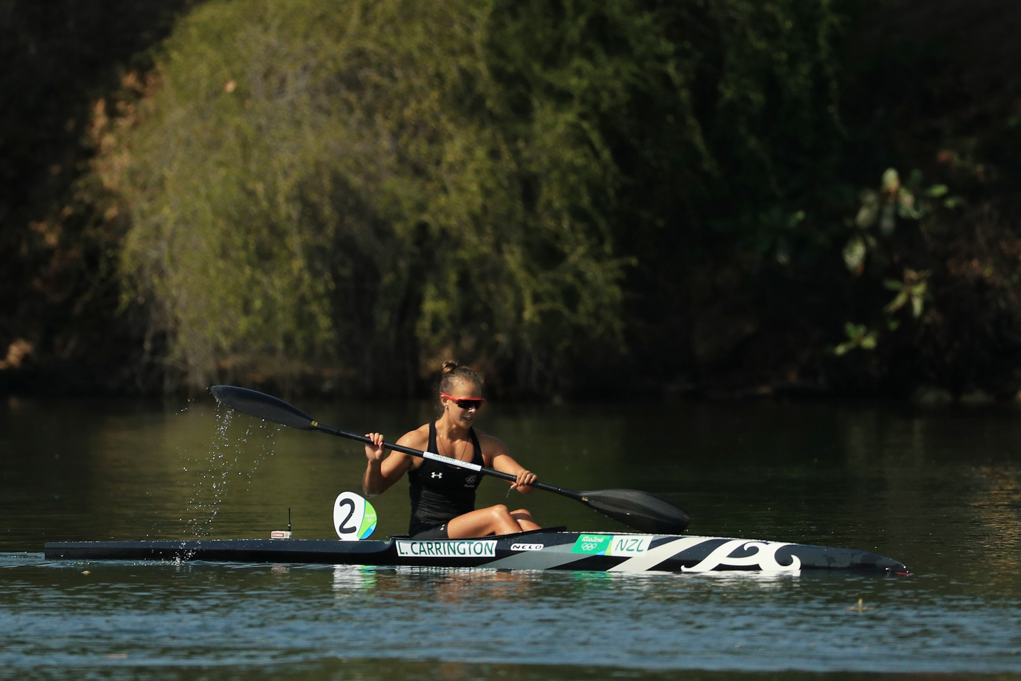 Carrington world title voted best canoeing moment of 2017