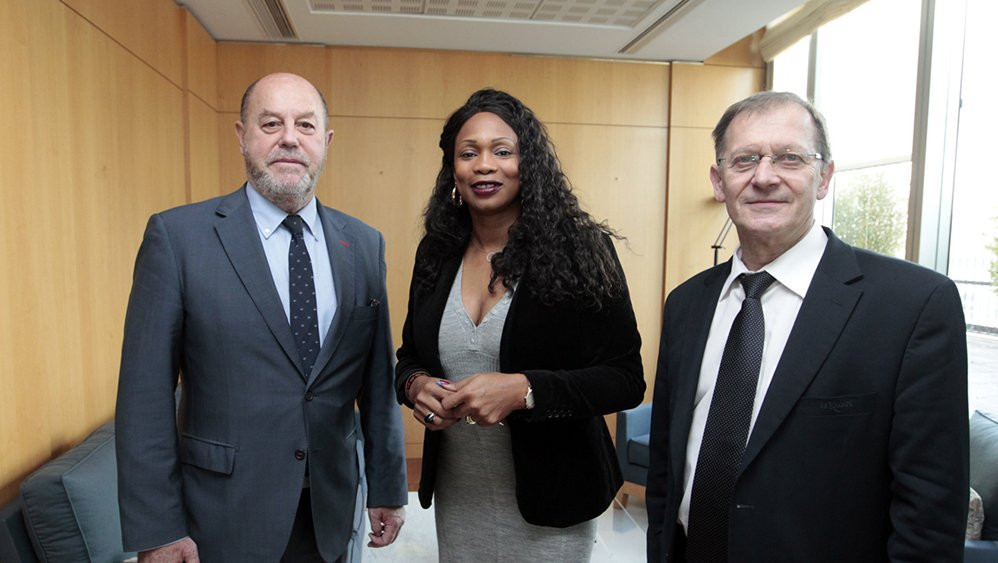 WKF President holds talks with French Sports Minister