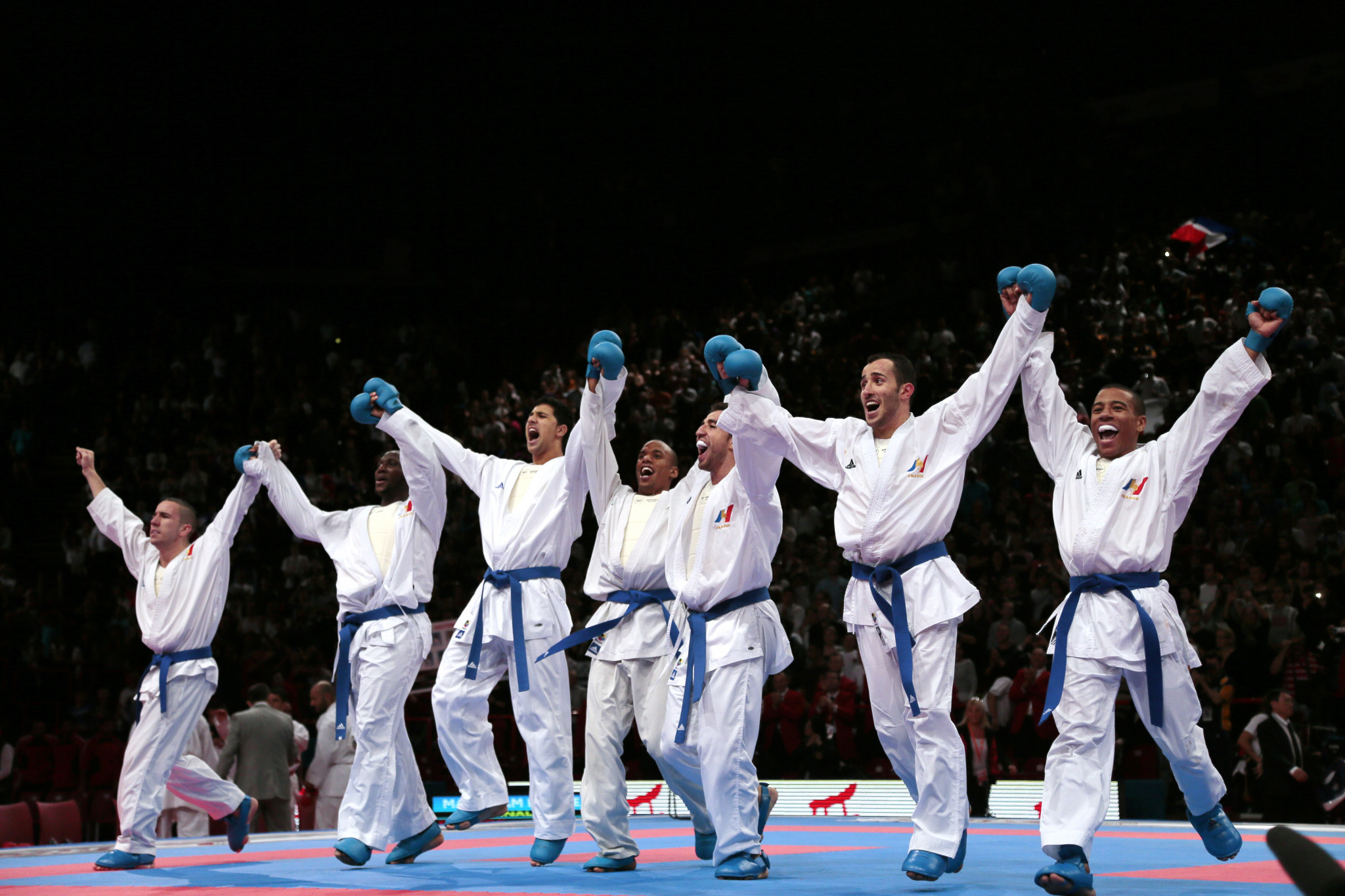 Karate is a thriving sport in France ©Getty Images