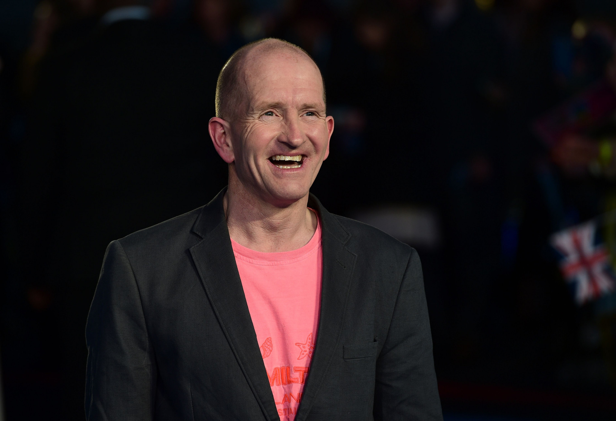 Eddie the Eagle returns to ski jumping for New Year's Day celebrations