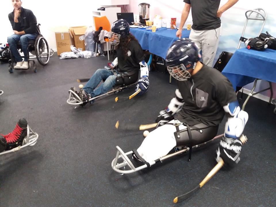 World Para Ice Hockey organised a training camp in Israel ©World Para Ice Hockey
