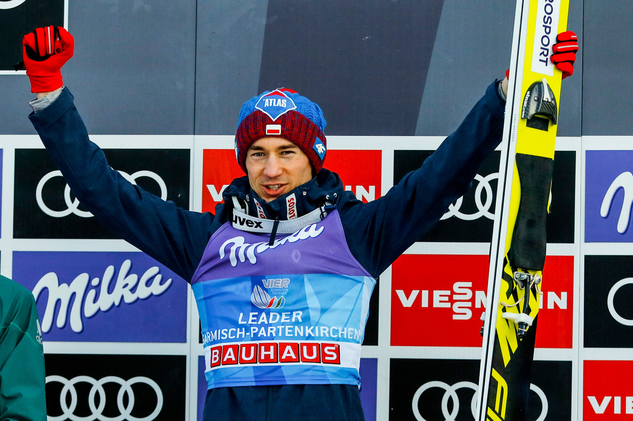 Stoch clinches second win at Four Hills Tournament