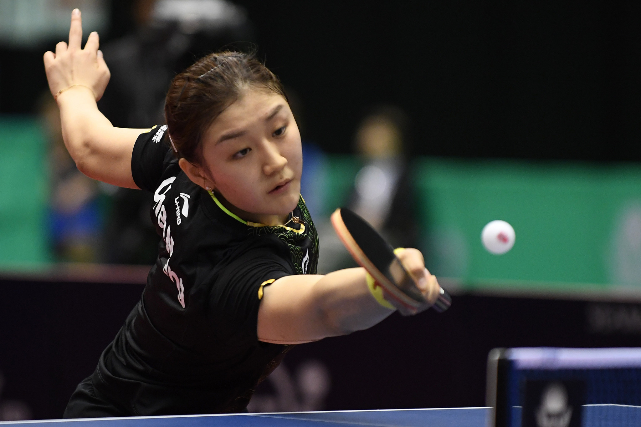 Chen Meng sits on top of the women's ITTF World rankings at the start of 2018 ©Getty Images