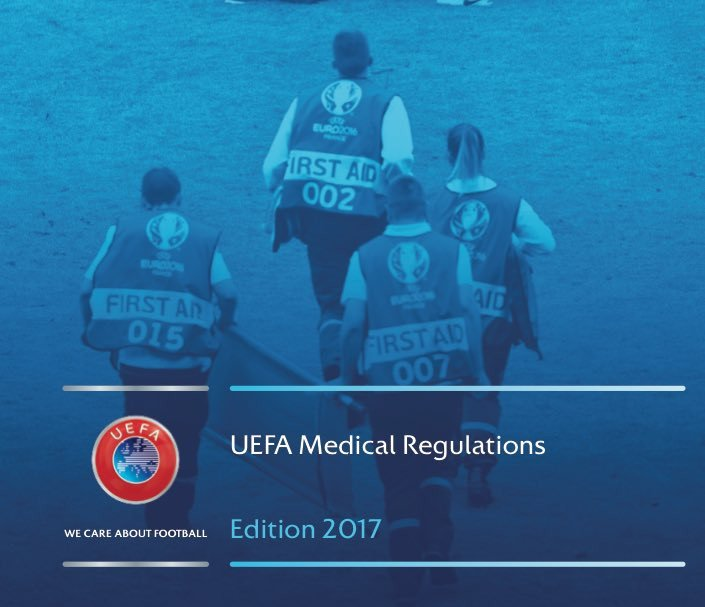 UEFA publish updated medical regulations for players across all competitions