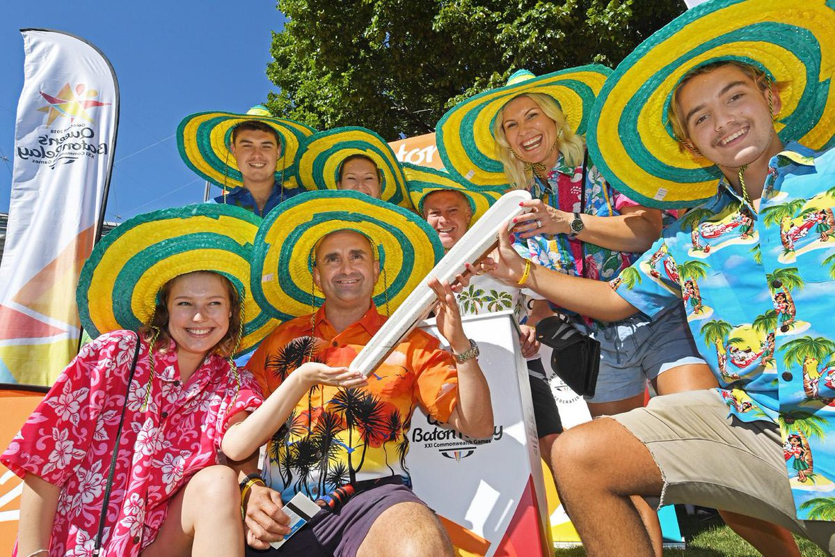 Sponsor QSuper supporting Australian leg of the Gold Coast 2018 Queen's Baton Relay
