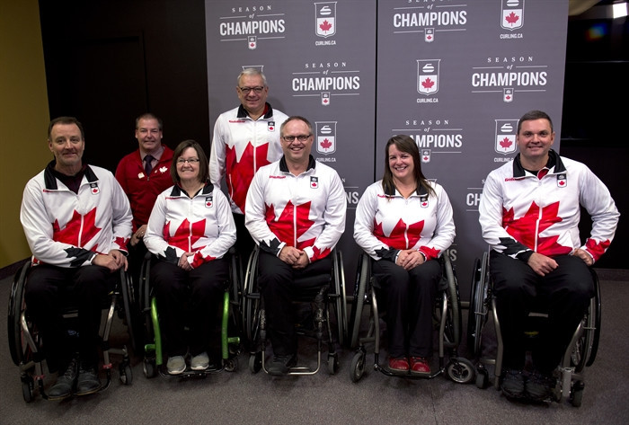 Curling Canada selects five wheelchair curlers for nomination to Pyeongchang 2018 Paralympics team