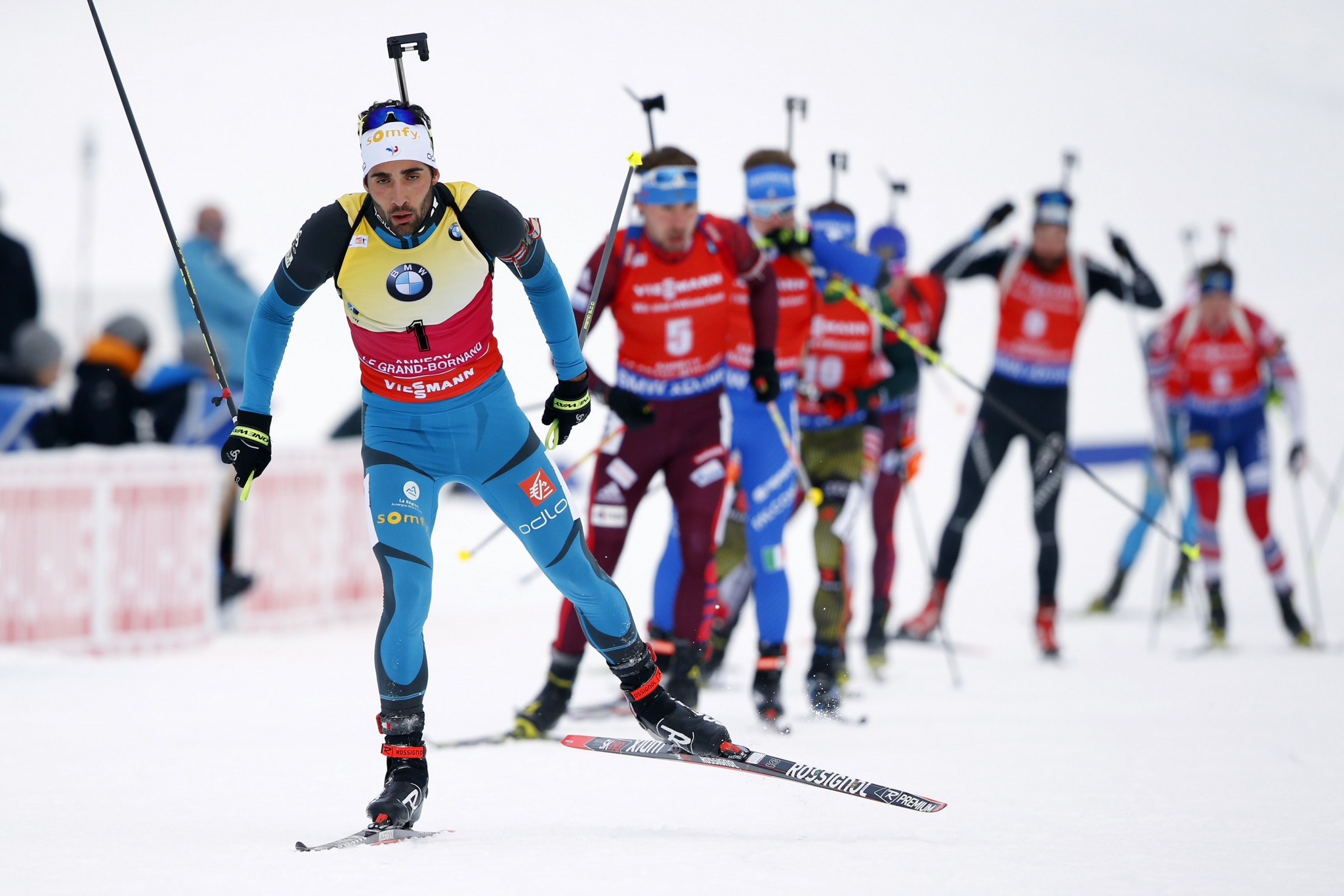 Fourcade and Kuzmina seek to extend overall leads as IBU World Cup season resumes