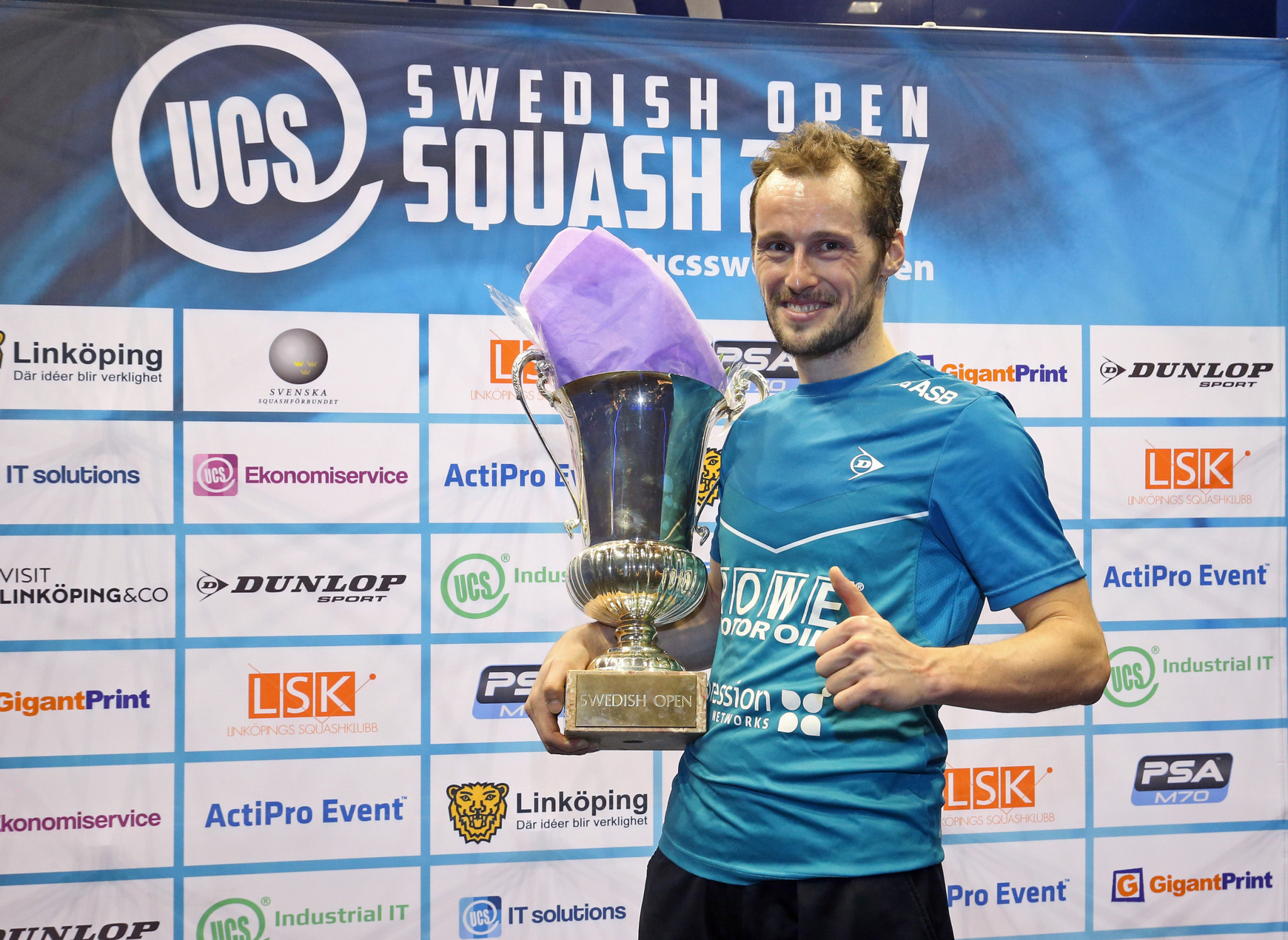 Gaultier to begin PSA Swedish Open title defence with match against compatriot Castagnet