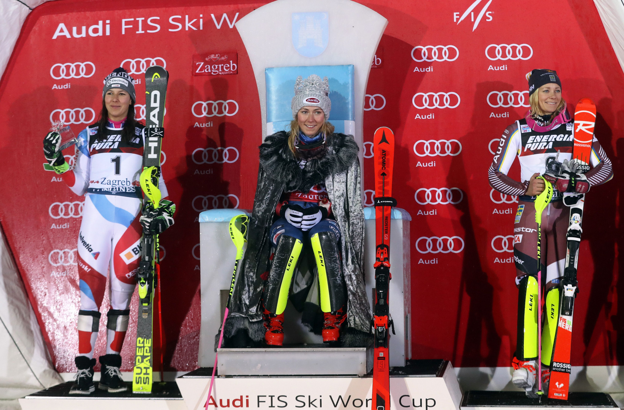 Shiffrin takes Snow Queen Trophy title in Zagreb