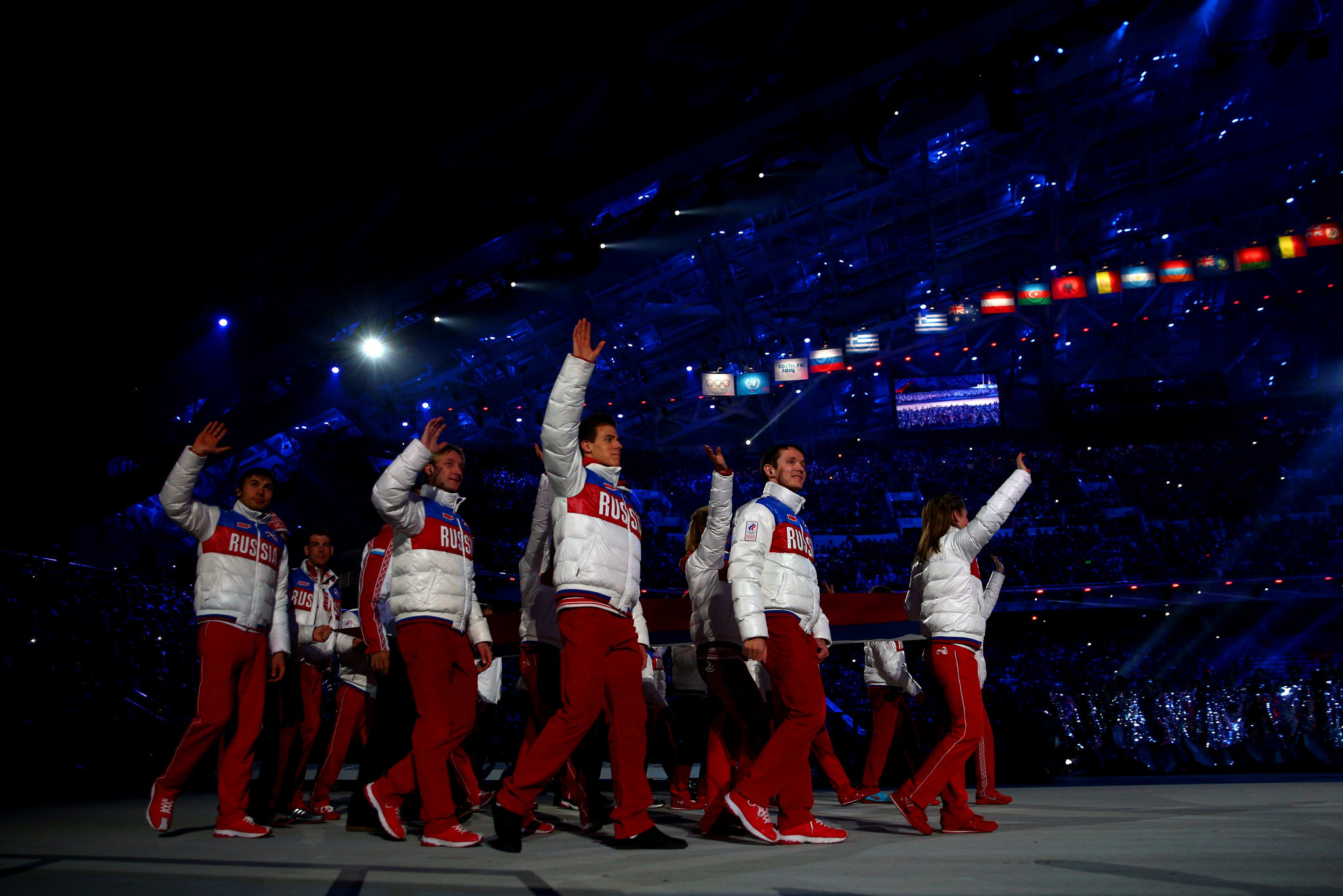 Russia have been knocked off the top of the Sochi 2014 Olympic medal standings following the sanctioning of athletes by the International Olympic Committee for doping at the Games ©Getty Images