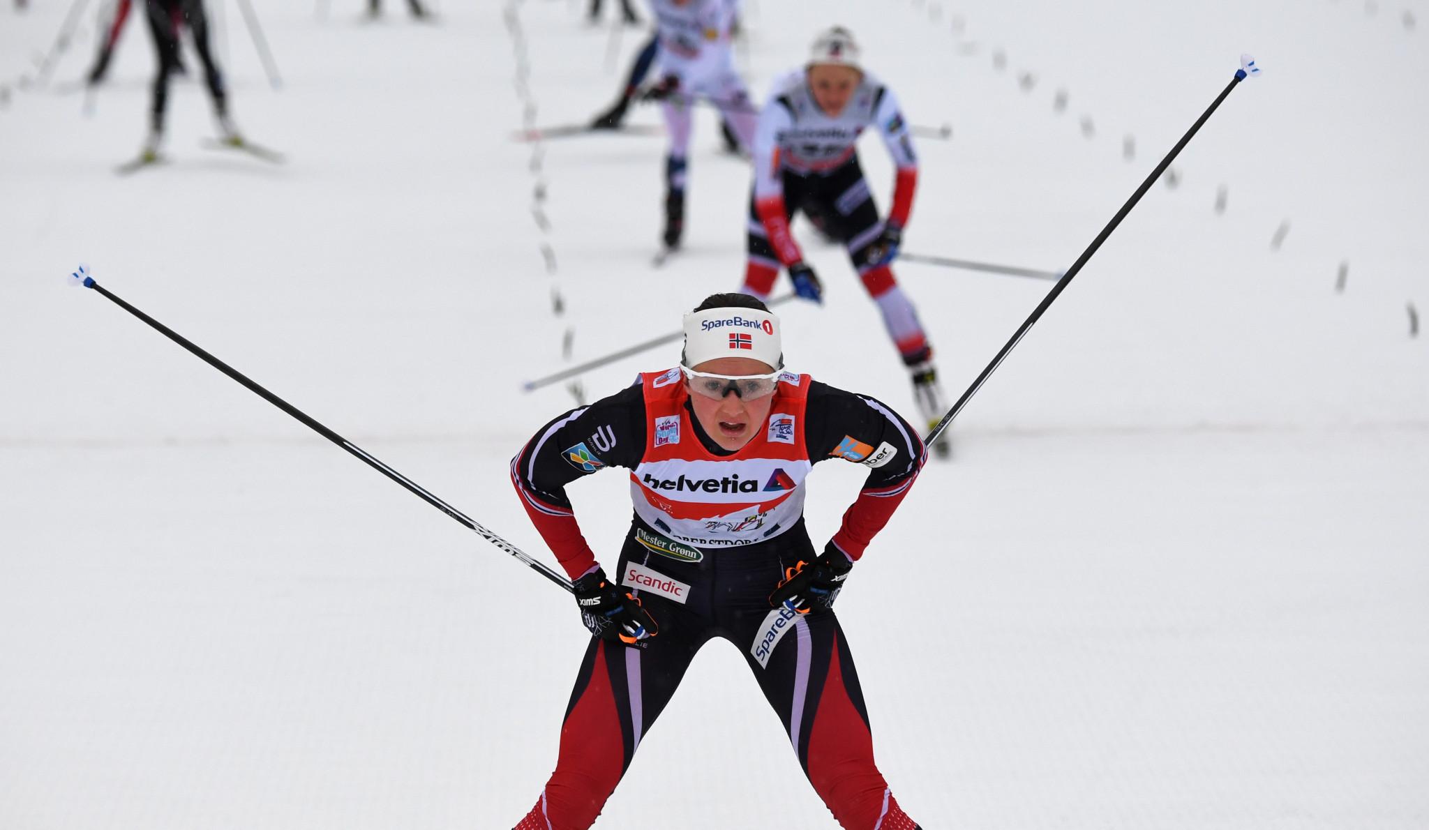 Østberg and Iversen secure Norwegian double as Tour de Ski resumes