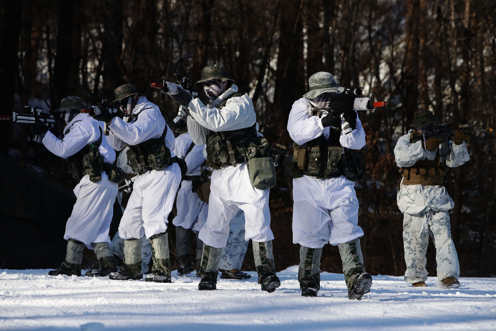Military exercises will be halted until after Pyeongchang 2018 ©Getty Images