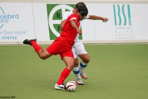 Ocal bags second hat-trick to preserve Turkey's unbeaten record at IBSA Blind Football European Championships