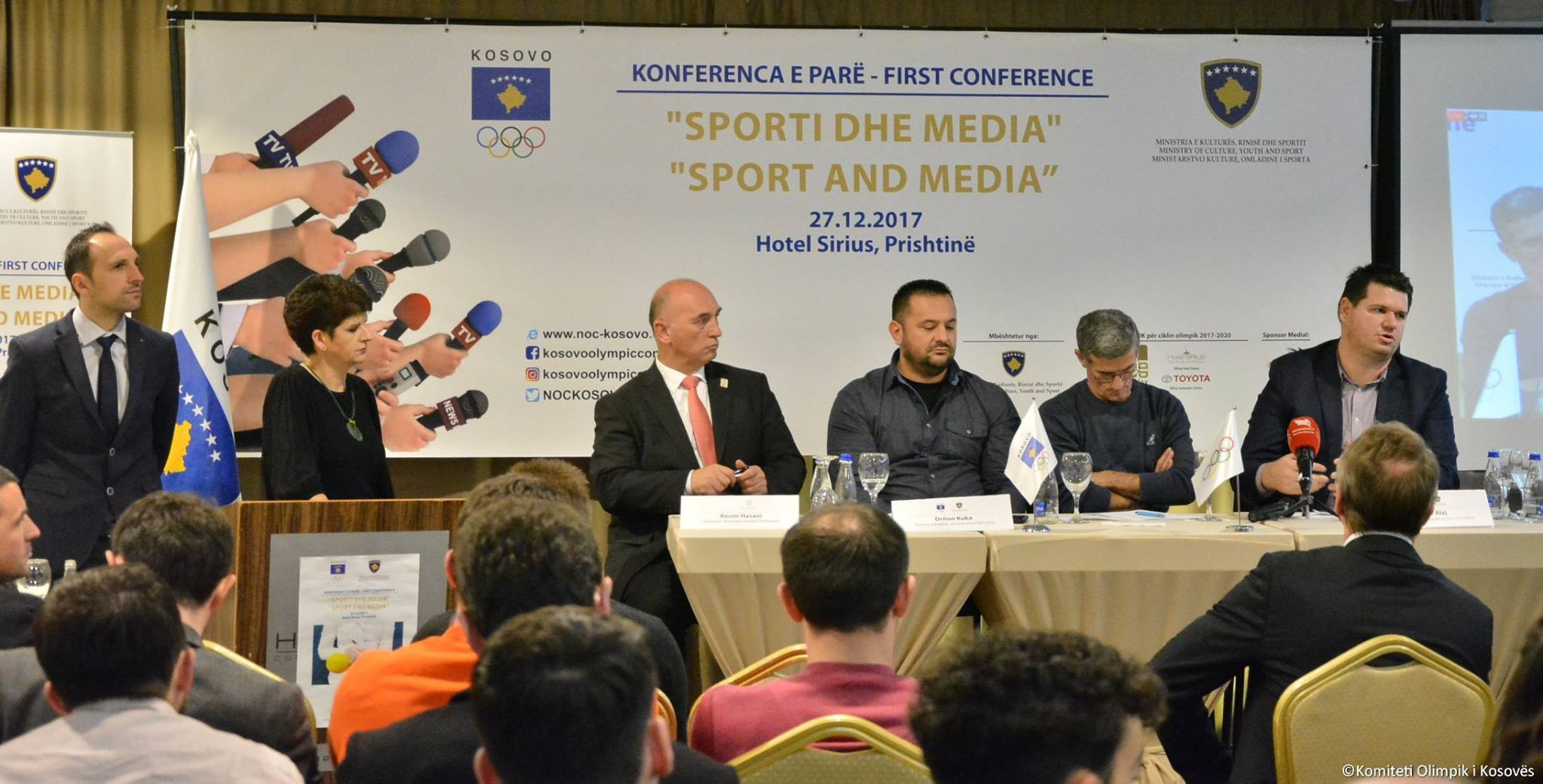 Kosovo Olympic Committee organise sport and media conference