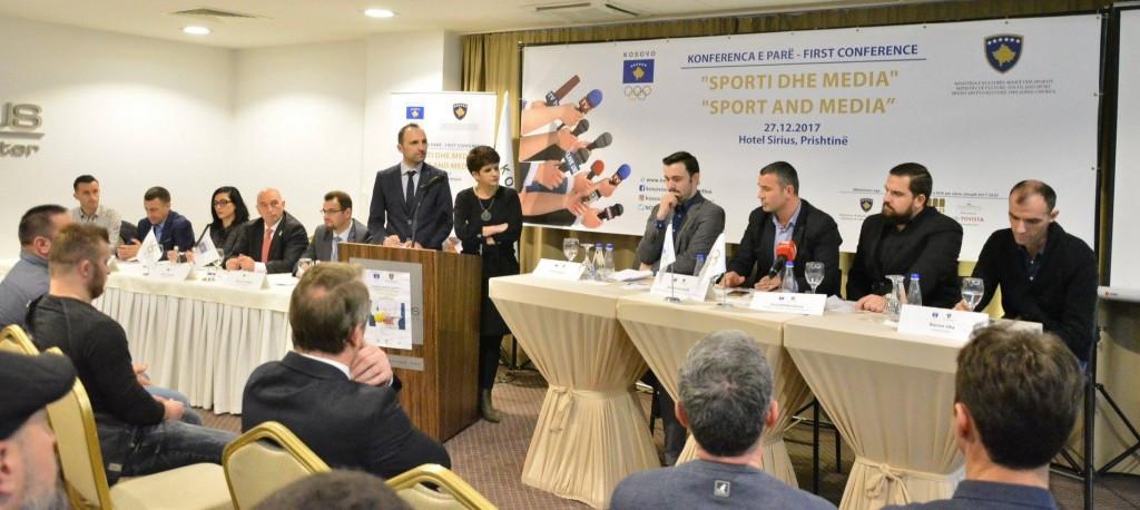 Delegates attending the conference in Pristina ©KOC
