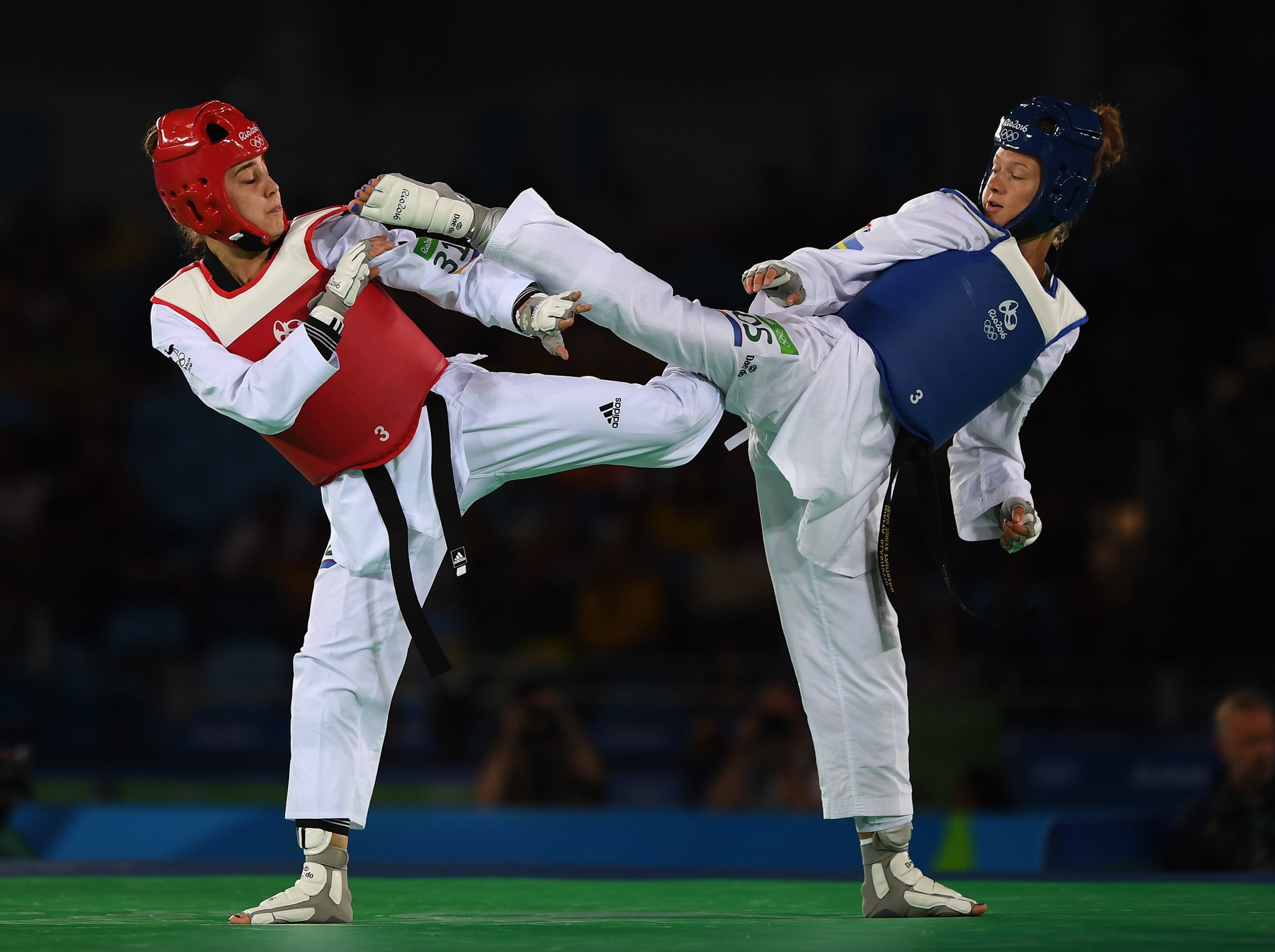 Caroline Marton was one of four athletes that represented Australia in taekwondo at the Rio 2016 Olympic Games ©Getty Images