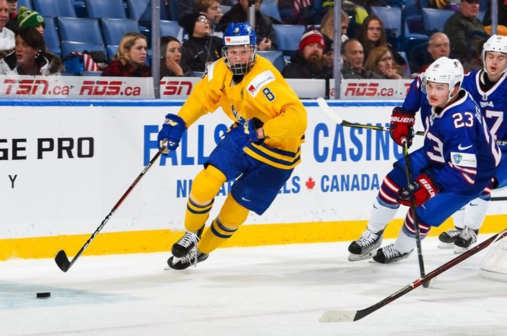 Sweden end United States' defence of IIHF World Junior Championships title to reach final