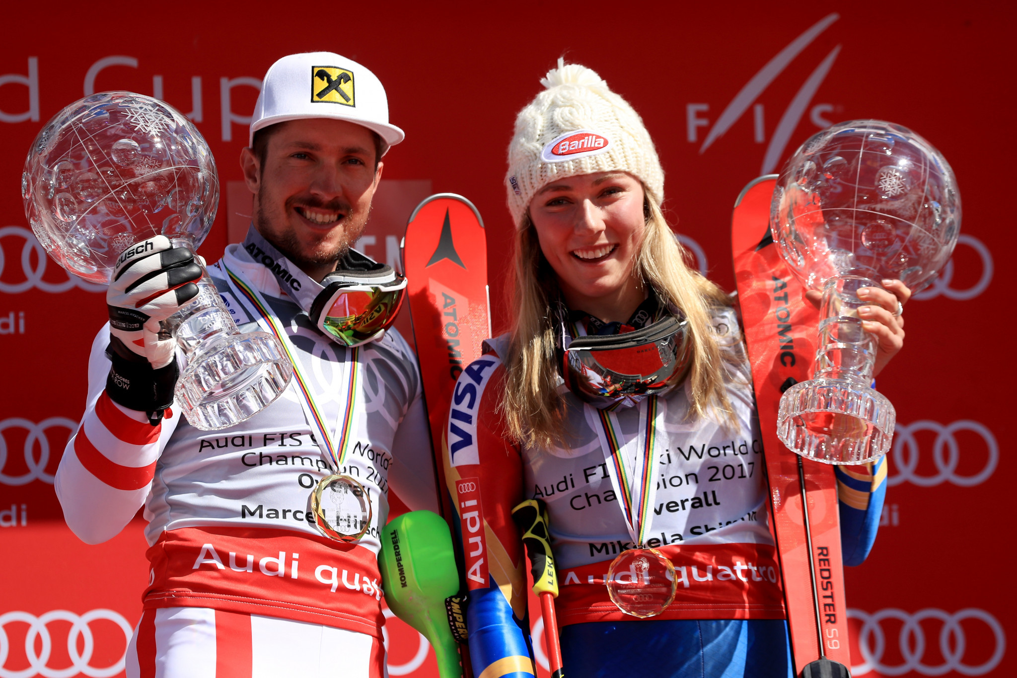 Hirscher and Shiffrin tipped to win FIS Alpine World Cups in Adelboden and Kranjska Gora