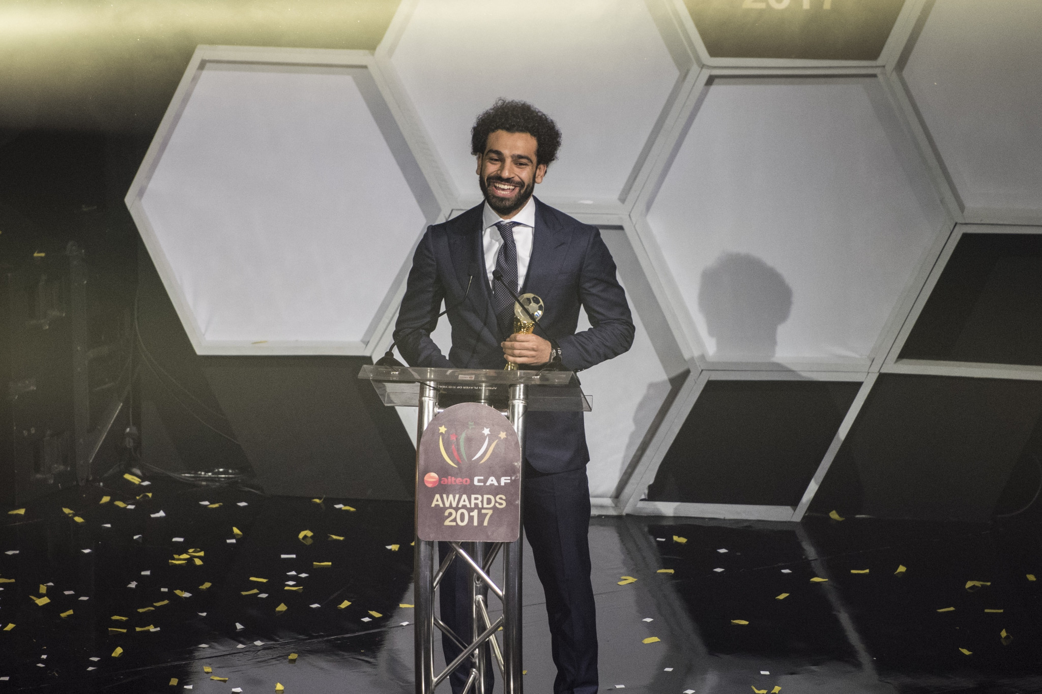Egyptian Salah named African Football Player of the Year