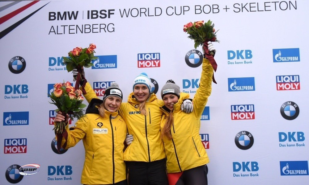 Lölling and Yun continue winning Skeleton World Cup form in Altenberg