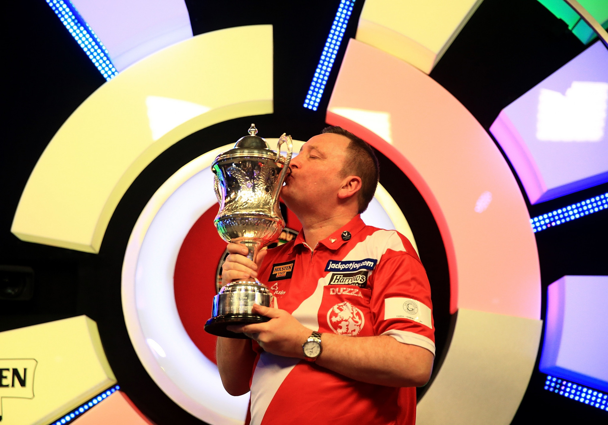 The 2018 BDO World Championship is due to begin tomorrow with Glen Durrant looking to defend the men's title ©Getty Images