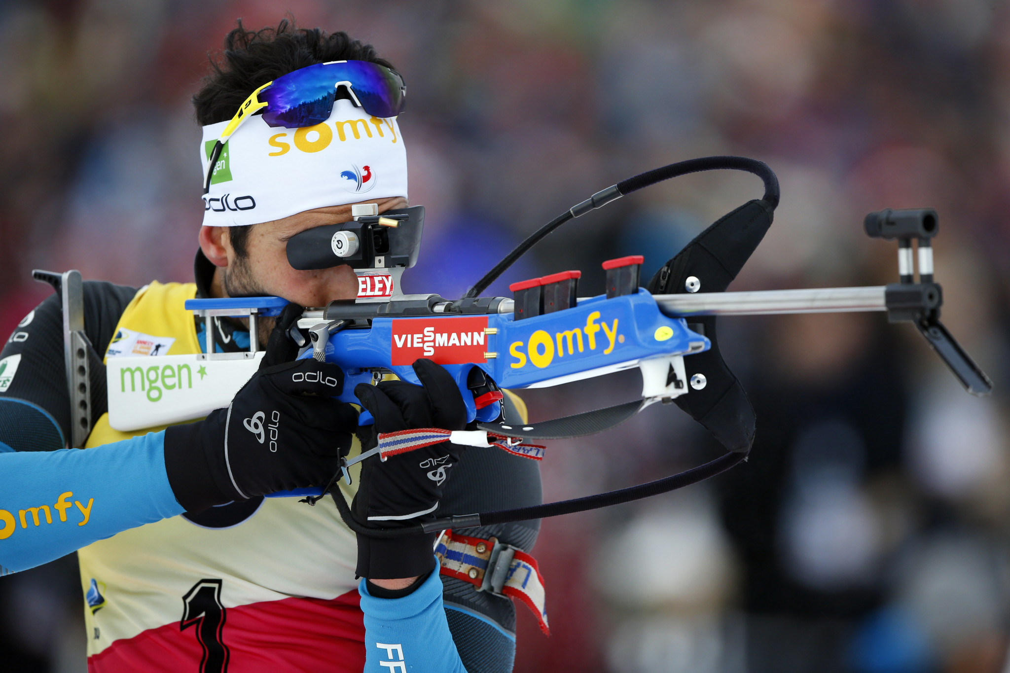 Martin Fourcade of France is a major name in the sport of biathlon ©Getty Images
