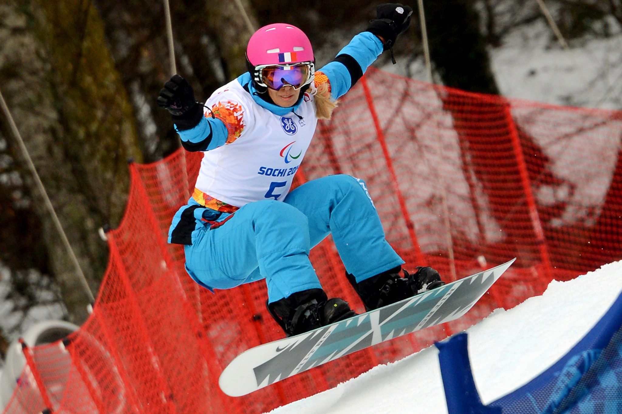 Cécile Hernandez will hope to improve on her silver medal from Sochi 2014 ©Getty Images