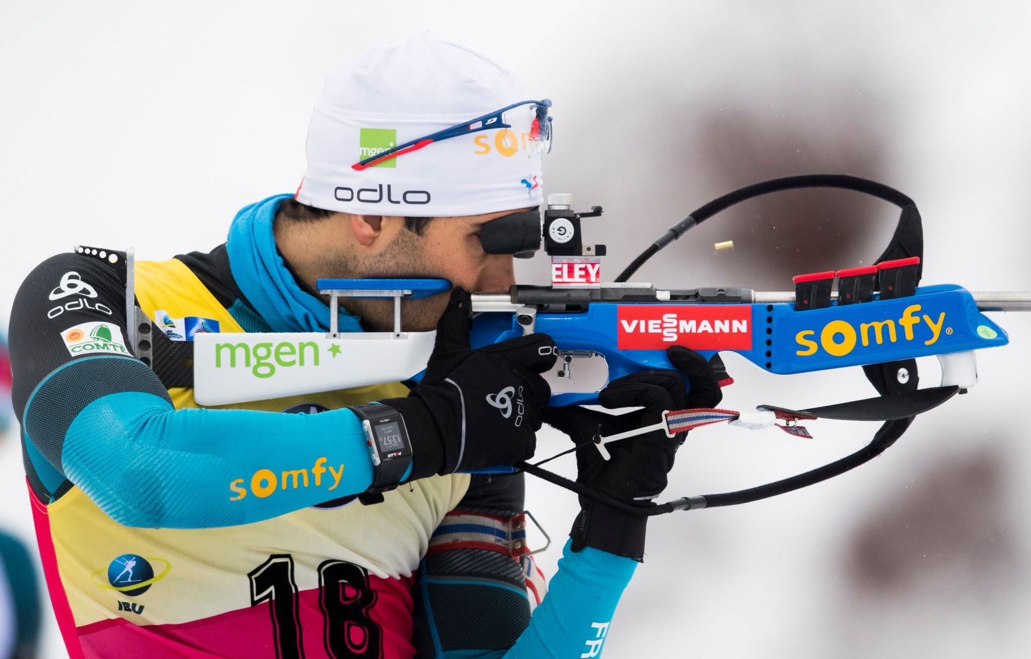 Fourcade records second consecutive victory to strengthen overall lead at IBU World Cup