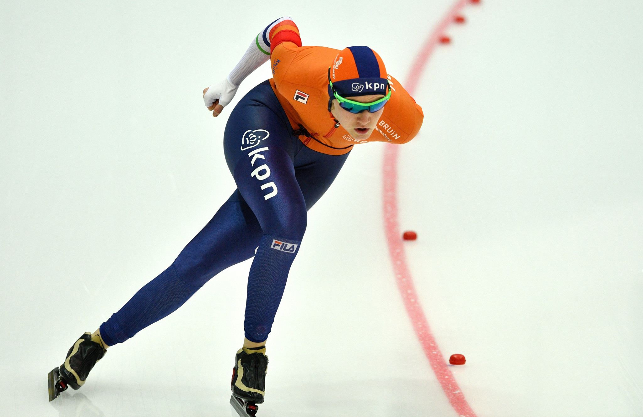 Lotte van Beek was among two Dutch gold medallists on the opening day of competition ©Getty Images