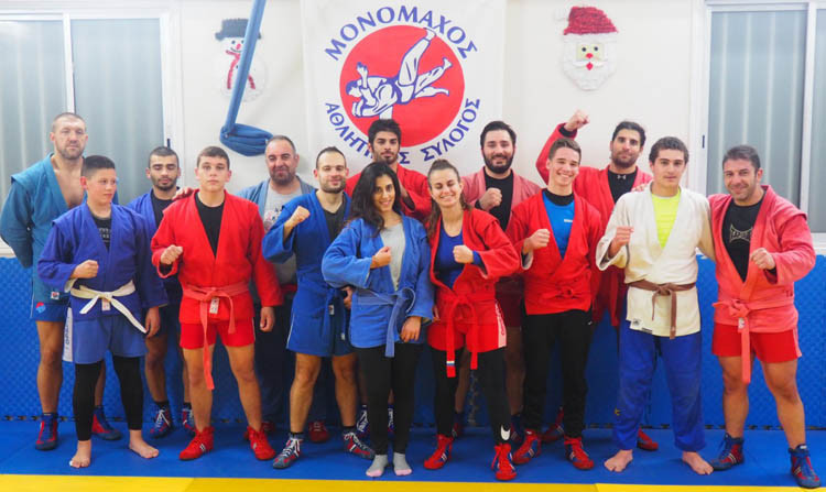 Sambo coaching seminar held in Cyprus