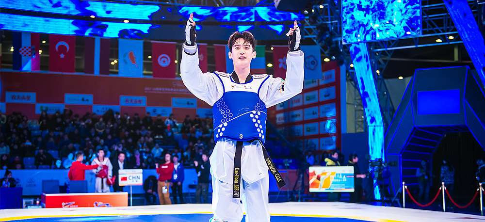 Lee and Gbagbi dazzle as World Taekwondo Grand Slam Champions Series resumes