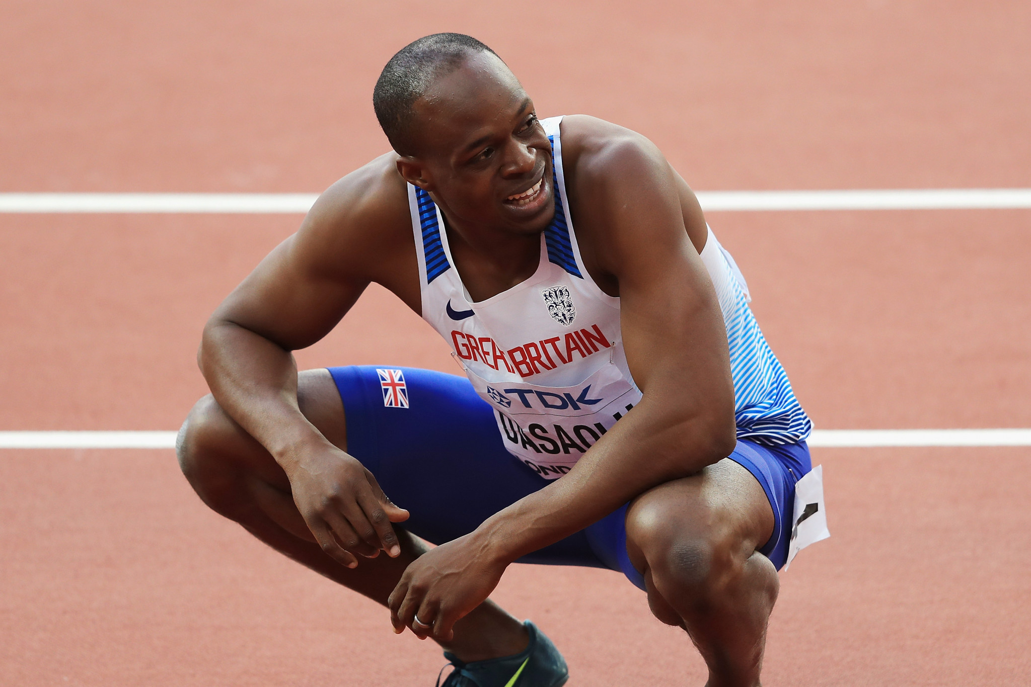 James Dasaolu is among withdrawals from the England team ©Getty Images