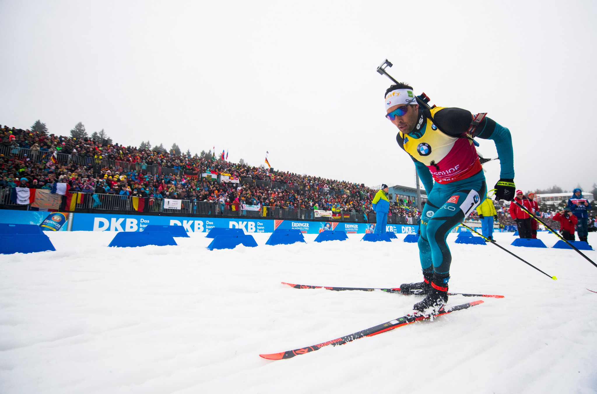 In-form Fourcade and Kuzmina seal sprint pursuit doubles at IBU World Cup