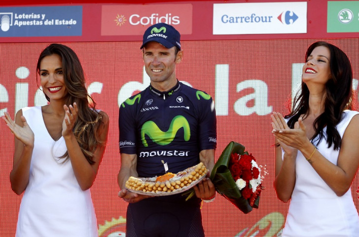 Valverde secures narrow victory to claim ninth Vuelta a España stage success
