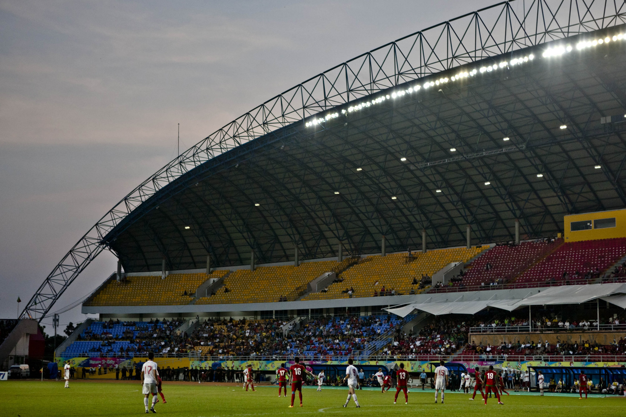 Palembang hosted the 2013 Islamic Solidarity Games ©Getty Images