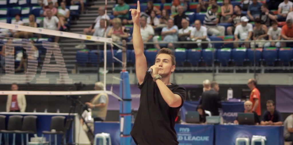 Video released for European Volleyball Championships anthem